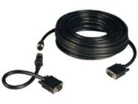 Tripp Lite 100ft VGA Coax Monitor Cable Easy Pull with RGB High Resolution HD15 M/M 100' - VGA cable kit - 30.5 m