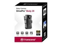 Transcend DrivePro Body 20 - camcorder - internal flash memory