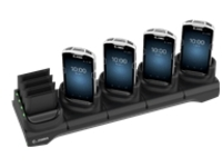 Zebra 5Slot Charge Only Cradle w/Spare Battery Charger - handheld charging stand + battery charger