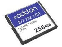 AddOn 256MB Cisco MEM-CF-256MB Compatible Compact Flash - flash memory card - 256 MB - CompactFlash