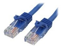 StarTech.com Cat5e Ethernet Cable50 ft - Blue - Patch Cable - Snagless Cat5e Cable - Long Network Cable - Ethernet Cord…