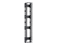 Panduit PatchRunner High Capacity Vertical Cable Manager rack cable management panel (vertical) - 52U