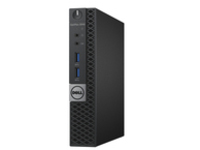 Image of Dell OptiPlex 3040 - Micro - 1 x Core i5 6500T / 2.5 GHz - RAM 8 GB - HDD 500 GB - HD Graphics 530 - GigE - WLAN : 80…