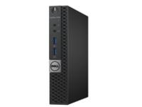 Image of Dell OptiPlex 3040 - Micro - 1 x Core i3 6100T / 3.2 GHz - RAM 4 GB - HDD 500 GB - HD Graphics 530 - GigE - Win 10 Pr…