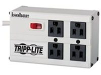 Tripp Lite Isobar Ultra Surge 4 outlet 6' Cord Metal Housing 3330 Joules - surge protector