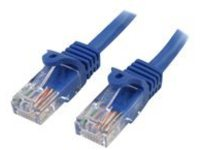 StarTech.com 5m Blue Cat5e / Cat 5 Snagless Patch Cable 5 m - patch cable - 5 m - blue