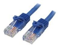 StarTech.com Cat5e Ethernet Cable10 ft - Blue - Patch Cable - Snagless Cat5e Cable - Network Cable - Ethernet Cord - Ca…
