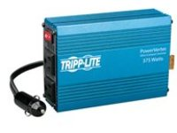 Tripp Lite Compact Car Portable Inverter 375W 12V DC to 120V AC 2 Outlets - DC to AC power inverter - 12 V - 375 Watt - output connectors: 2