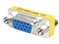 StarTech.com Slimline VGA HD15 Gender Changer - F/F - HD15 gender changer - VGA coupler - VGA gender changer (GC15HSF) …