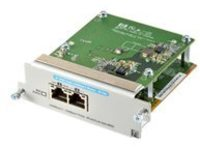 HPE - Expansion module - 10Gb Ethernet x 2 - for Aruba 2920-24G, 2920-24G-PoE+, 2920-48G, 2920-48G-PoE+