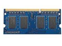 HP - DDR3L - 8 GB - SO-DIMM 204-pin - 1600 MHz / PC3-12800 - 1.35 V - unbuffered - non-ECC - for HP 250 G5 (RRD3); EliteBook 745 G3, 755 G3, 840 G1; ProBook 430 G3 (RRD3), 440 G3 (RRD3), 45X G3 (RRD3), 470 G3 (RRD3)