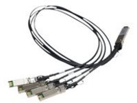 HPE X240 Direct Attach Copper Splitter Cable - network cable - 1 m