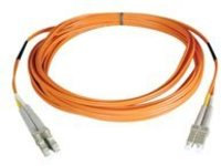 Tripp Lite 2M Duplex Multimode 50/125 Fiber Optic Patch Cable LC/LC 6' 6ft 2 Meter - patch cable - 2 m - orange