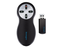 Kensington Si600 Wireless Presenter with Laser Pointer presentation remote control - black