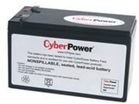 CyberPower RB1280A - UPS battery - lead acid - 8 Ah