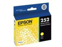 Epson 252 With Sensor - yellow - original - ink cartridge