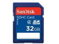 SanDisk Standard - flash memory card - 32 GB - SDHC