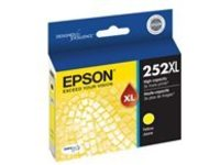 Epson 252XL With Sensor - XL - yellow - original - ink cartridge