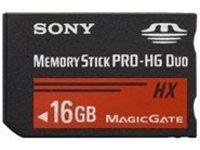 Sony MSHX16B/MN - flash memory card - 16 GB - Memory Stick PRO-HG Duo HX