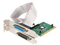 StarTech.com 2 Port PCI Parallel Adapter Card - EPP/ECP - PCI DB25 Card - IEEE 1284 Card - PCI Parallel Card (PCI2PECP)…