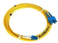 Axiom SC-ST Singlemode Duplex OS2 9/125 Fiber Optic Cable - 3m - Yellow - network cable - 3 m