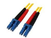 StarTech.com 7m Fiber Optic Cable - Single-Mode Duplex 9/125 - LSZH - LC/LC - OS1 - LC to LC Fiber Patch Cable (SMFIBLC…