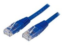 StarTech.com Cat6 Ethernet Cable - 15 ft - Blue - Patch Cable - Molded Cat6 Cable - Network Cable - Ethernet Cord - Cat…