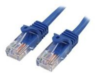 StarTech.com Cat5e Ethernet Cable7 ft - Blue - Patch Cable - Snagless Cat5e Cable - Short Network Cable - Ethernet Cord…