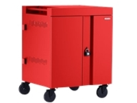 Bretford Cube TVC16PAC-RED - 270 degree doors - cart