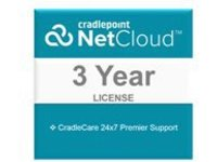 Cradlepoint CradleCare Premier - extended service agreement - 3 years - shipment
