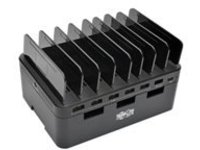 Tripp Lite 7-Port USB Charging Station Hub w/ Quick Charge 3.0, USB-C Port, Device Storage, 5V 4A (60W) USB Charge Outp…
