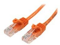 StarTech.com 5m Orange Cat5e / Cat 5 Snagless Ethernet Patch Cable 5 m - patch cable - 5 m - orange