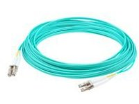 AddOn 25m LC to ST OM3 Aqua Patch Cable - patch cable - 25 m - aqua