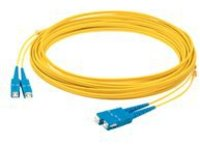 AddOn 5m ASC OS1 Yellow Patch Cable - patch cable - 5 m - yellow