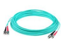 AddOn patch cable - 4 m - aqua