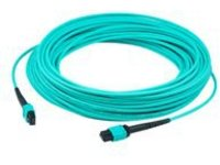 AddOn 20m MPO OM3 Aqua Patch Cable - patch cable - 20 m - aqua