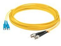 AddOn 2m SC to ST OS1 Yellow Patch Cable - patch cable - 2 m - yellow