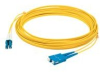 AddOn 1m LC to SC OS1 Yellow Patch Cable - patch cable - 1 m