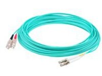 AddOn 1m LC to SC OM4 Aqua Patch Cable - patch cable - 1 m - aqua