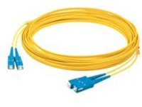 AddOn 1m SC OS1 Yellow Patch Cable - patch cable - 1 m - yellow