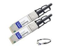 AddOn 1m Industry Standard QSFP+ DAC - direct attach cable - 1 m