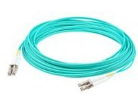 AddOn 3m LC OM3 Aqua Patch Cable - patch cable - 3 m - aqua