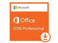Microsoft Office Professional 2016 - License - 1 PC - download - ESD - Win