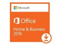 Microsoft Office Home and Business 2016 - License - 1 PC - ESD - Win - All Languages