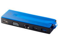 HP USB-C Travel Dock - docking station - USB - VGA, HDMI - 10Mb LAN