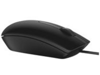Dell MS116 - mouse - USB - black