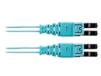 Panduit Opti-Core patch cable - 33 m - aqua