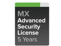 Cisco Meraki Advanced Security - subscription license (5 years) + 5 Years Support - 1 appliance