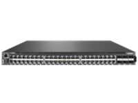Lenovo ThinkSystem NE1072T RackSwitch - switch - 48 ports - managed - rack-mountable