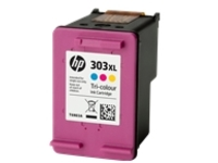 HP 303XL - High Yield - dye-based tricolour - original - ink cartridge